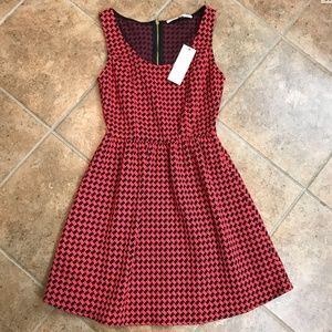 Collective Concepts Houndstooth Dress, NWT